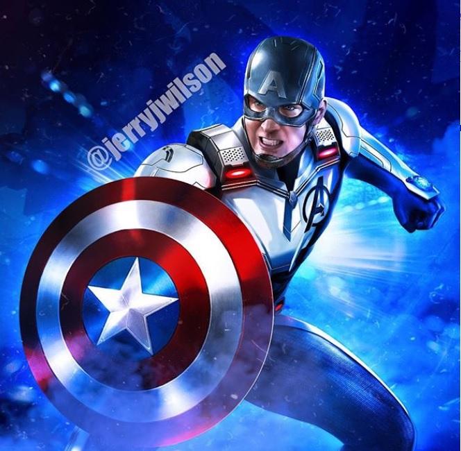 Marvel Super Eroe AVVENTURE MEGA potente CAPITANO Marvel ** Nuovo Di Zecca **