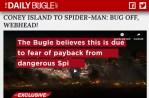 daily bugle spider-man