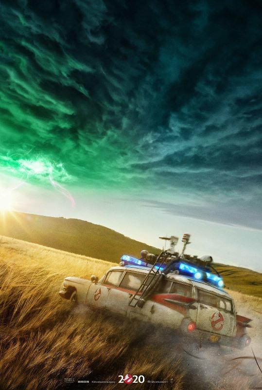 Ghostbusters: Legacy, il primo teaser poster ufficiale del film