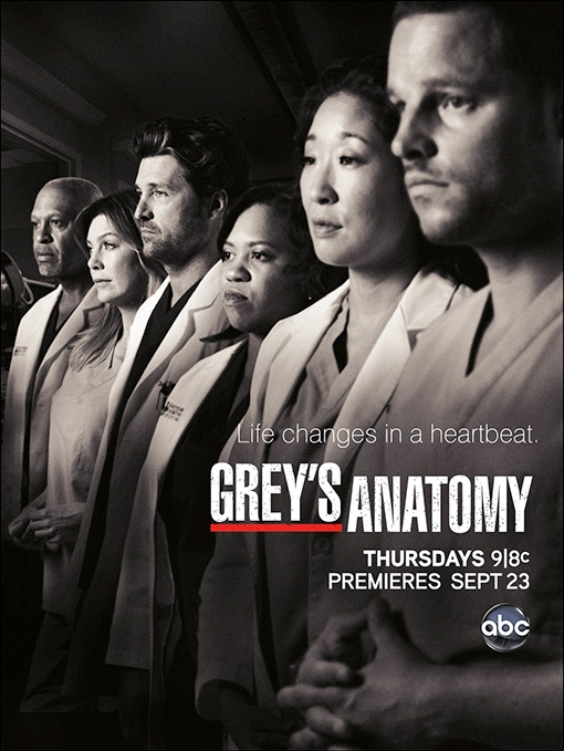 Grey's Anatomy 9-poster