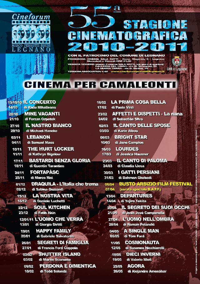 Volantino Stagione 2010-2011