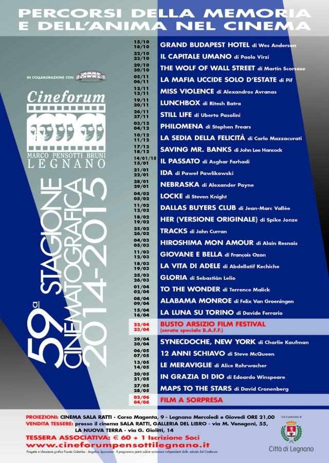 Volantino Stagione 2014-2015