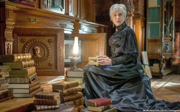 winchester szellemek háza kritika helen mirren