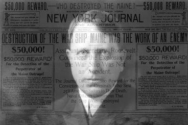 De cómo la prensa provocó una guerra