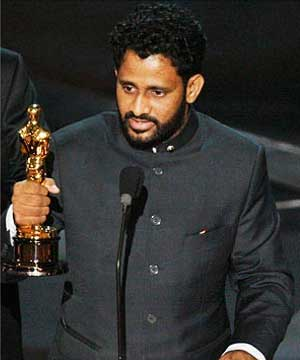 Resul Pookutty Oscar Winner from India