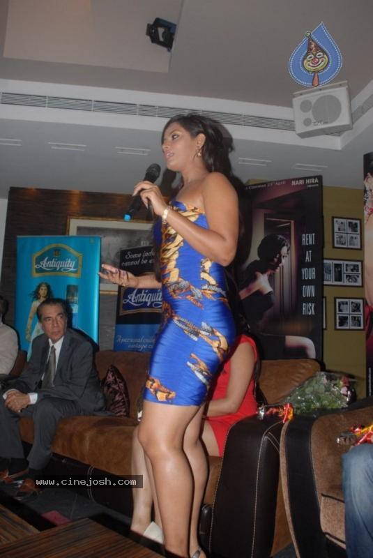 Neetu Chandra Three Dutta At Apartment Film 1st Look Launch 37 46 Photos