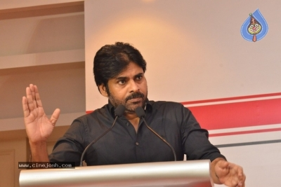 JanaSena Chief Pawan Kalyan Press Meet In Chennai | Photos ...