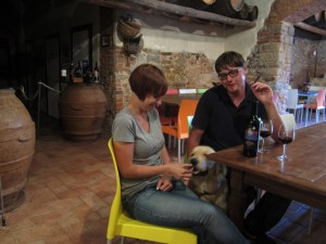 Bonella e Riccardo con Felix