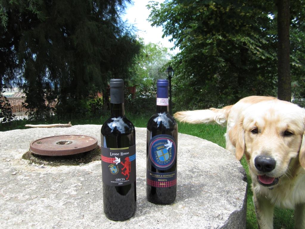 Brunello Riserva 2005 Orcia Doc Leone Rosso 2007 con Felix