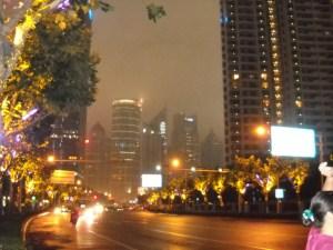 Shangnai di notte