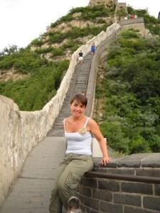 Violante sulla Grande Muraglia