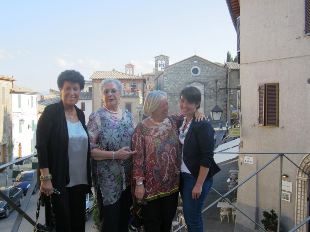 Carla Fendi Francesca Colombini, Donatella e Violante