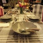 Toscana lovers tavola apparecchiata