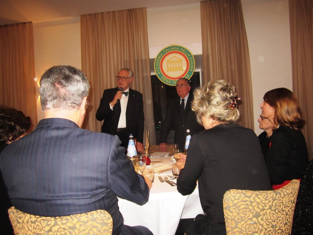 Giovanni Bellarini e Luciano Franchi