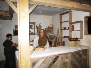 Gozo, presepio vivente, casa del falegname