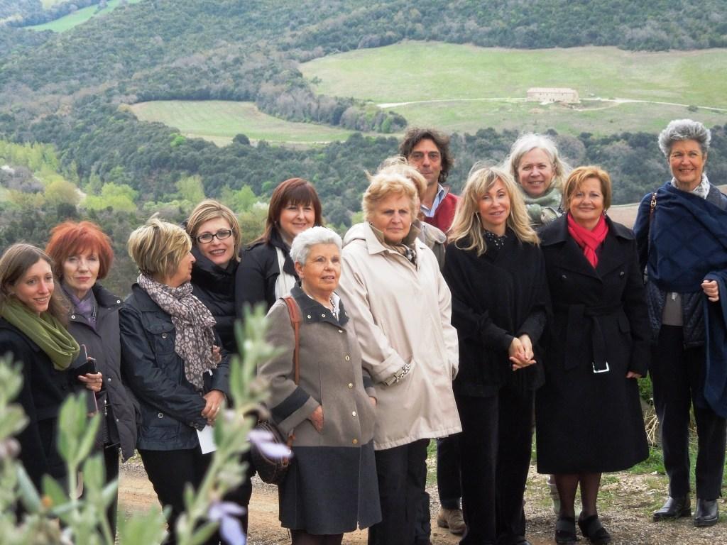 Montalcino - Azienda Mastrojanni - Donne del vino