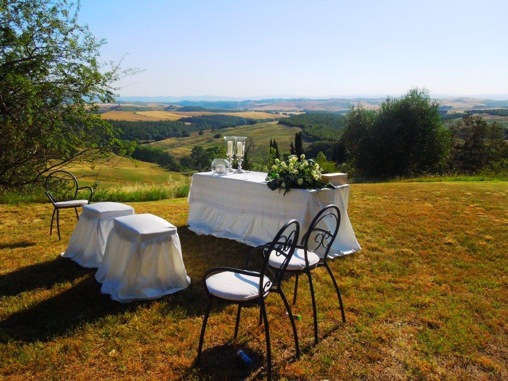 Wedding in Fattoria del Colle