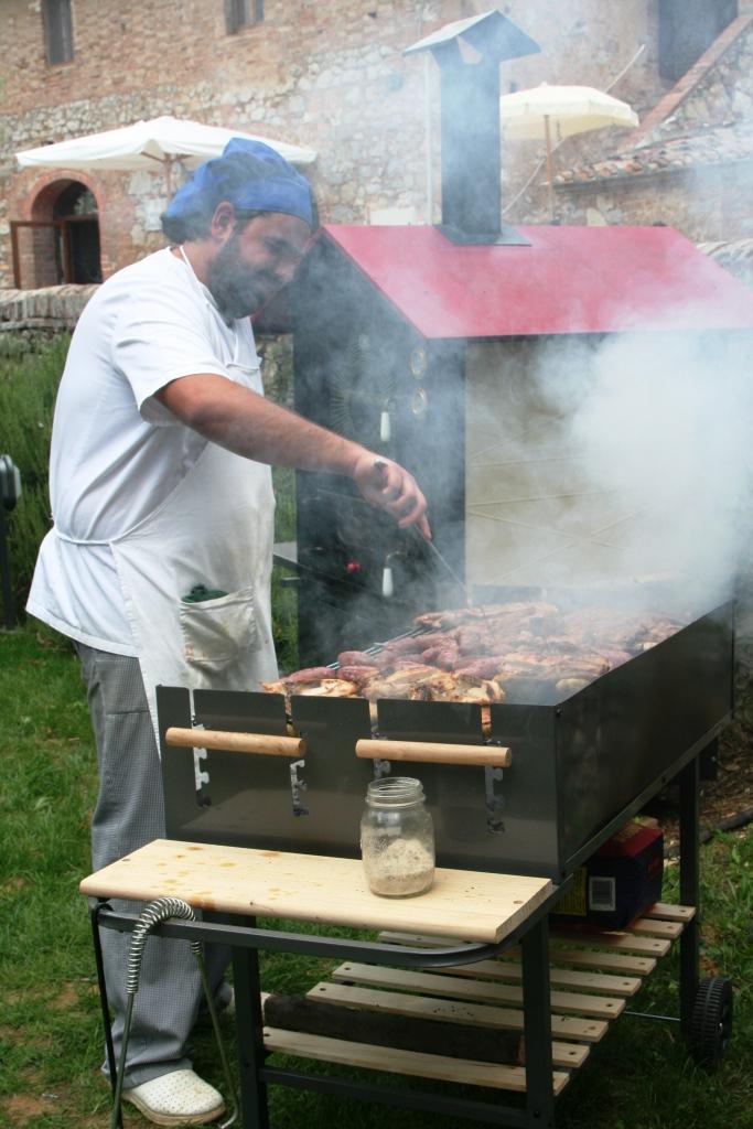 Chef Antonio alla griglia