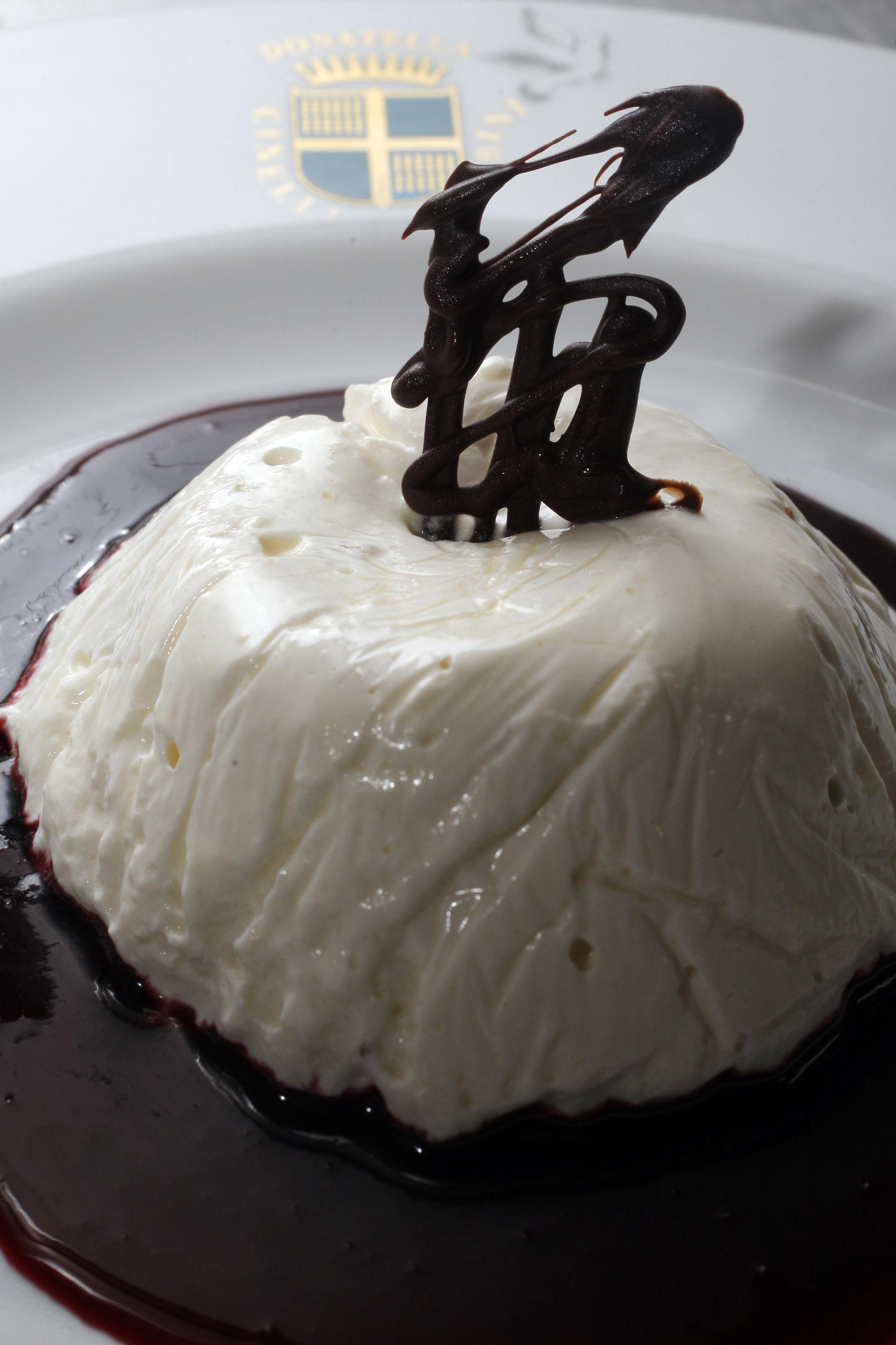Latte in piedi al cioccolato_osteria di Donatella