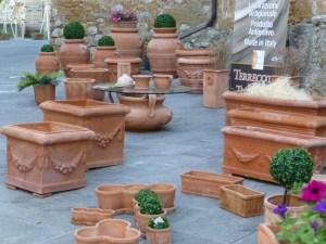 vasi di terracotta Petroio