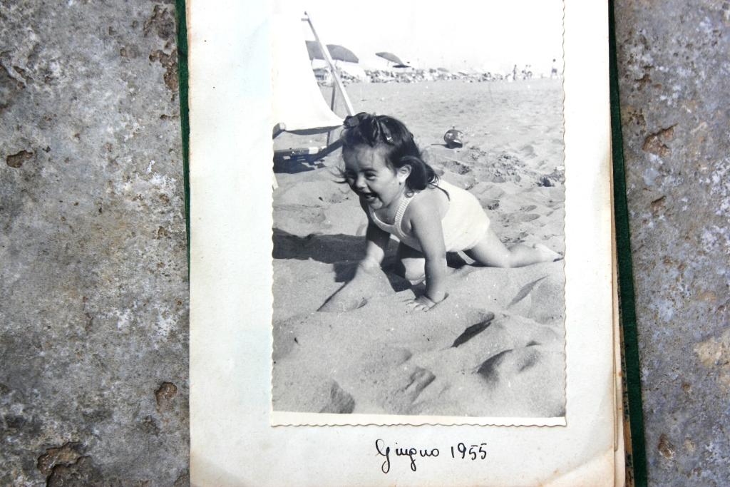 Donatella Cinelli Colombini a 2 anni