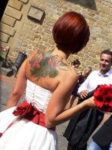 Bonella e Marco just married