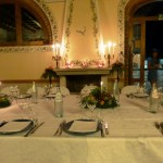 Fattoria del Colle dinner with Russian importers