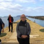 Donatella Cinelli Colombini pontile per Mozia