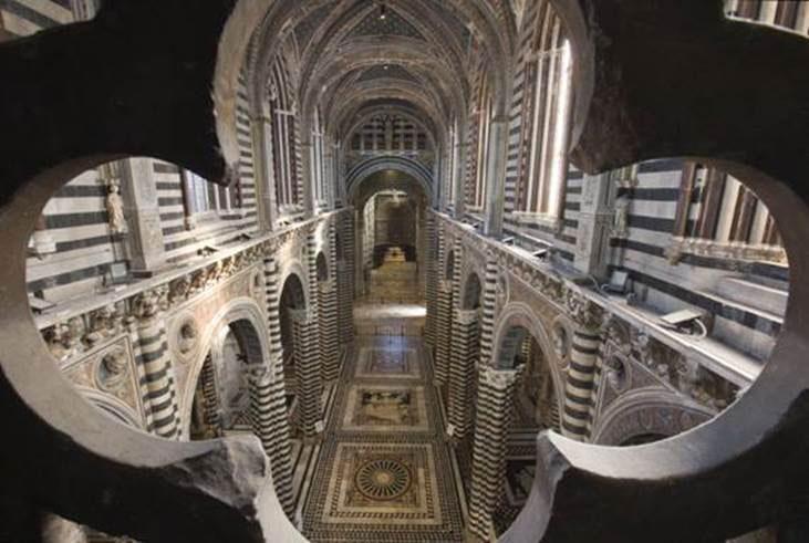 Siena Duomo la porta del cielo