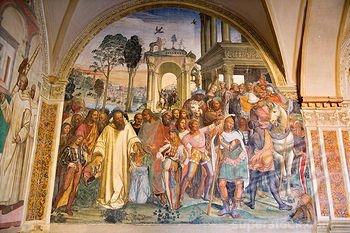 Sodoma, Monte Oliveto Maggiore storie di San Benedetto