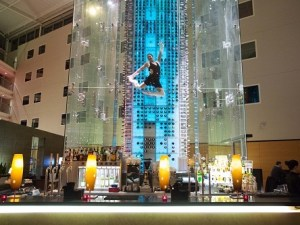 Angel's Wine Tower Bar, at Radisson's Stansted Airport hotel London