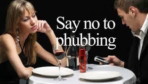 say no tu phubbing