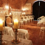 Wedding in the Fattoria del Colle's cellar