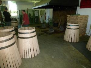 produzione delle barriques a Haut Brion