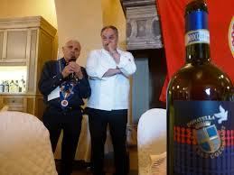 Gianluca di Pirro con la chaine-des-rotisseurs di Firenze