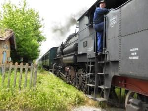 Treno natura alla stazione di Trequanda