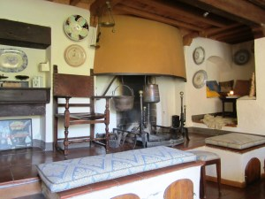 Traditional kitchen Fattoria del Colle