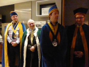 Commanderie des Vinophiles du Canada cerimonia