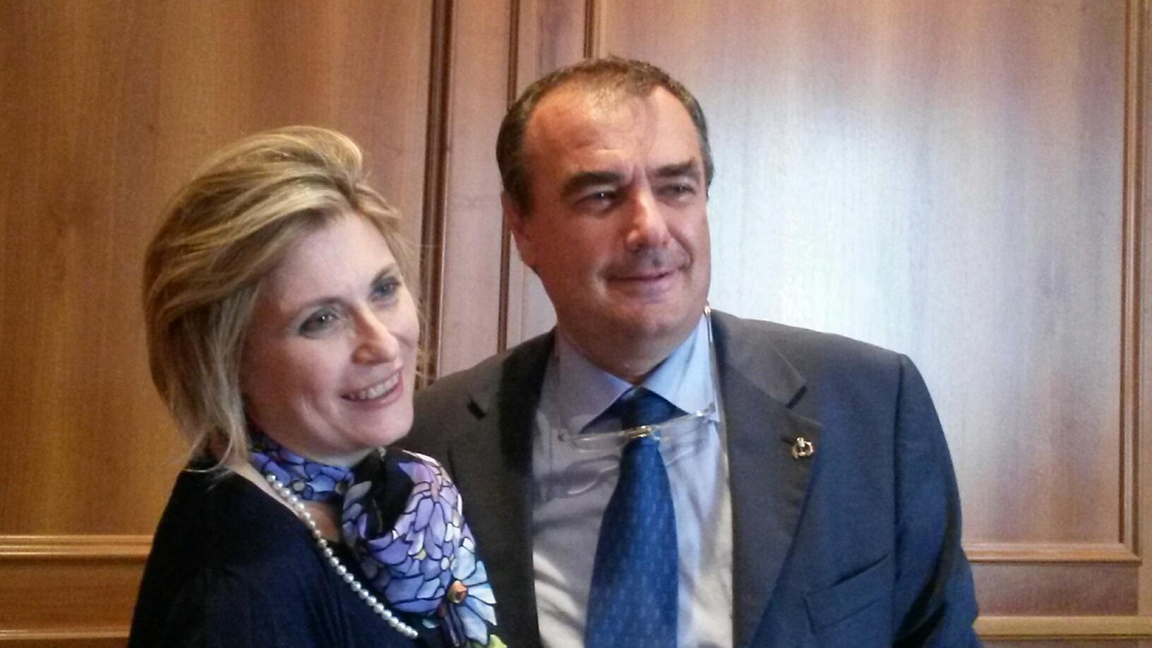 Daniela Mastroberardino e Carlo Pietrasanta