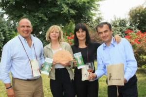 Mario Falcetti, Giuliana Cenci, Giovanna Prandini e Carlo Giovanni Pietrasanta