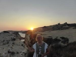 Gozo tramonto sul mare Donatella