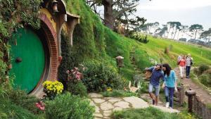 Hobbiton nella regione di Waikato New Zeland
