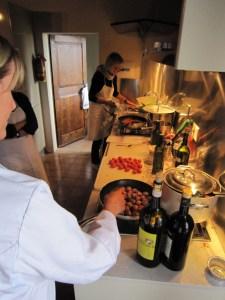 Scuola di cucina Toscana a fattoria del Colle