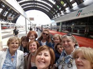 Donne del vino in viaggio per Napoli