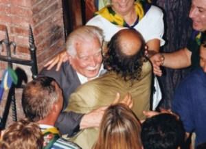 Socini Guelfi festeggia la vittoria del Palio nel Bruco