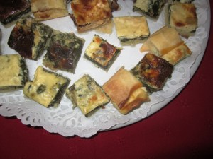 Torta di verdura e formaggio