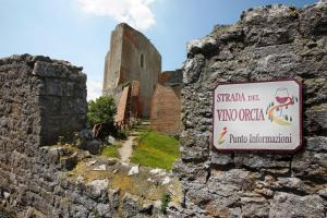 Strade del vino- Strada del vino Orcia