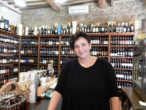Enoteca-Pierangioli- Montalcino-Stefania