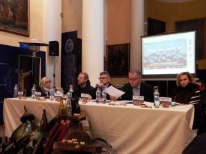 Wine destination tavola rotonda Suvereto:CinelliColombini, Magnani, Mastroberardino, Manzone