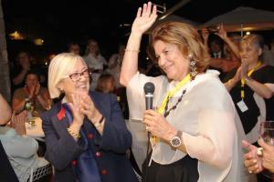 2017 Portopiccolo Donatella CinelliColombini con Cristiana Cirielli